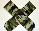 Warm and Cozy Fleece Slipper Socks Camo Print unisex mens women teen girls boys