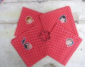 Retro 50s Housewife Tablecloth & Napkin Set