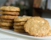 Organic Macadamia Nut and White Chocolate Cookies, no Butter