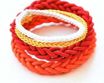 Hair Ties / Ponytail Holders/ Hair Accessories /  Rubber Bands