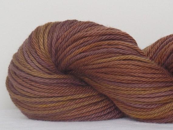 Pie Spice - Hand Dyed Sportweight Yarn - Pima Cotton Modal Blend