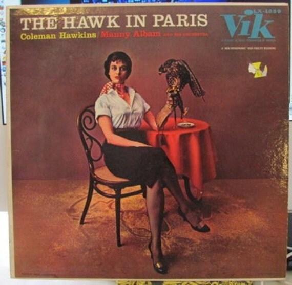 The Hawk in Paris Coleman Hawkins Manny Album 1956 LP
