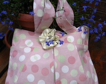 Florissant Bag in Pink Dots