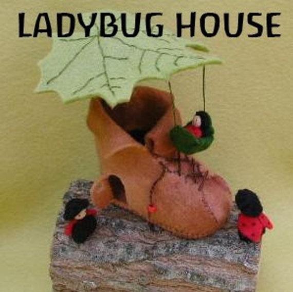 LADYBUG HOUSE KIT