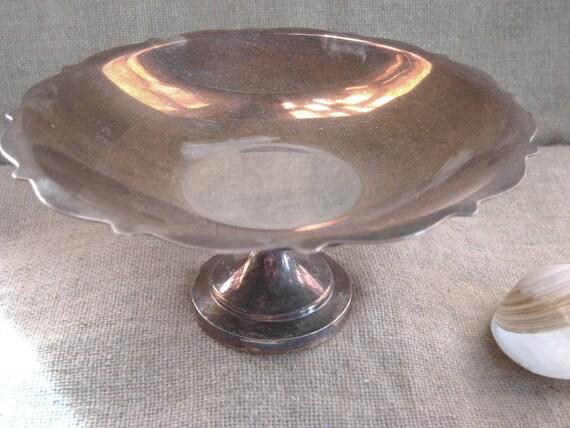 Vintage Silver Serving Compote