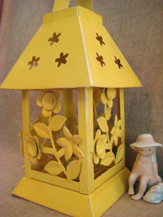 Kitschy Candle Holder Lantern