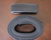 1 inch Knit Elastic (Black) 5 yards