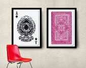 Playing Cards - 2 Posters 50x70 cm