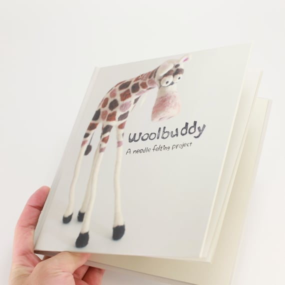 Woolbuddy book and any one felting kit set
