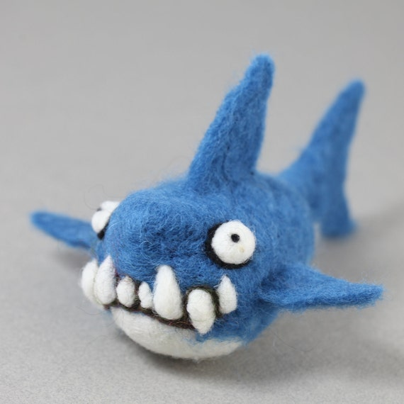 Needle felting Shark kit