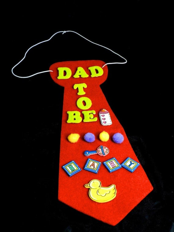 Baby Showers For Dads To Be ~ Items similar to dad be coed baby shower tie corsage