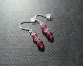 Simple Pink Earrings