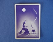 Gypsy Witches Brew Vintage Playing Cards X4