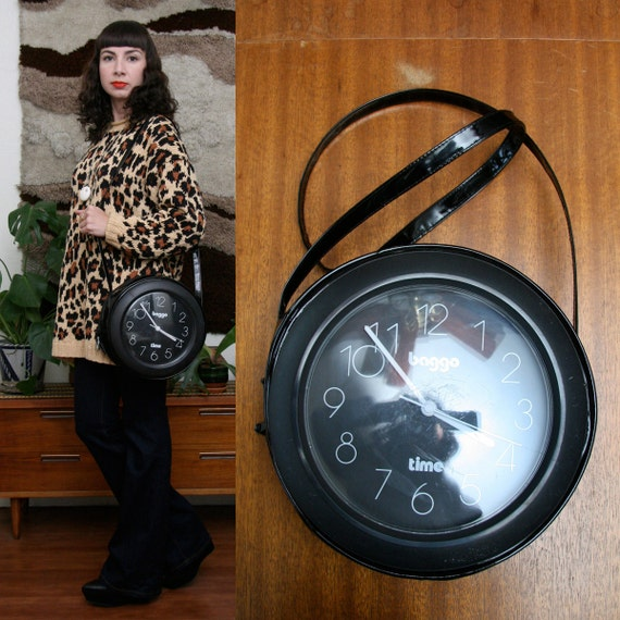 Vintage 80s Clock Purse