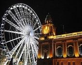 Wheel of Belfast - 8x10 Photograph Matted