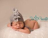 Download PDF crochet pattern 028 - Mohawk earflap hat - Multiple sizes from newborn through age 4