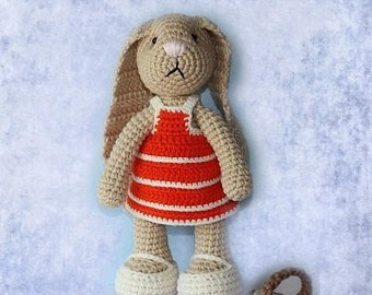 Download PDF crochet pattern 12 - Happy Bunny.