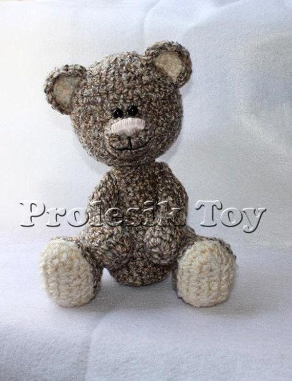 Download PDF crochet pattern 10 - Bear