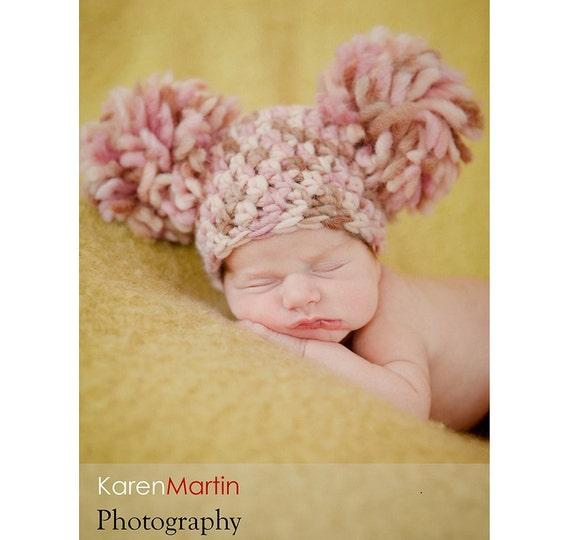 Download PDF crochet pattern 015 - Newborn Firework Hat - Quick and Easy
