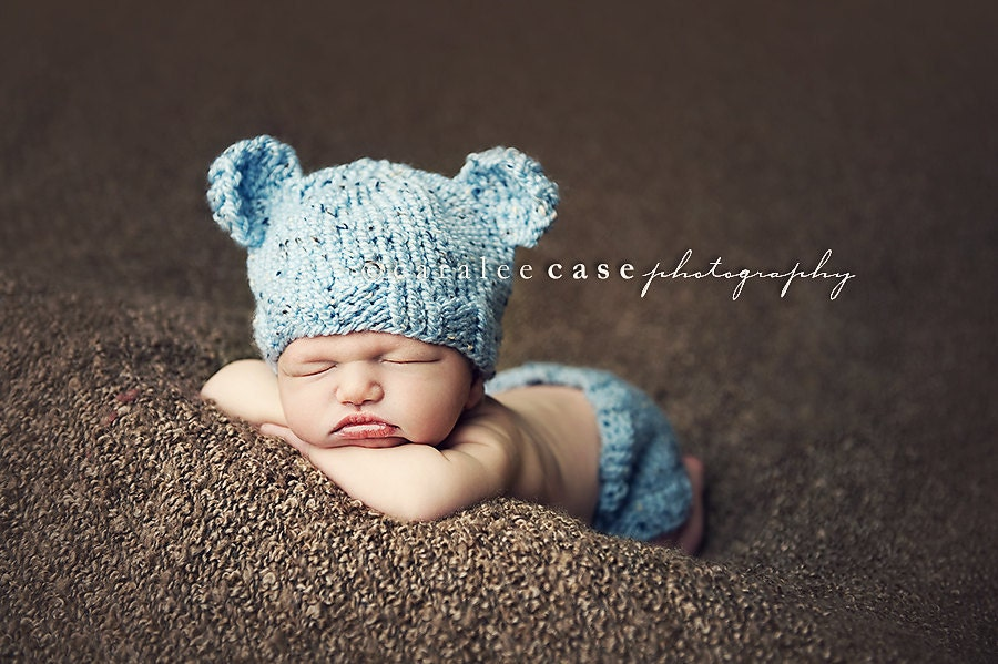 Knitting Patterns For Baby Boy Hats : Download PDF knitting pattern k-03 Knit by BeezyMomsCreations