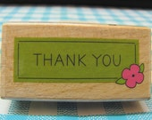 Thank you Rubber Stamps, Thank You Mounted Rubber Stamps