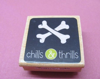 Chills & Thrills Mounted Rubber Stamps