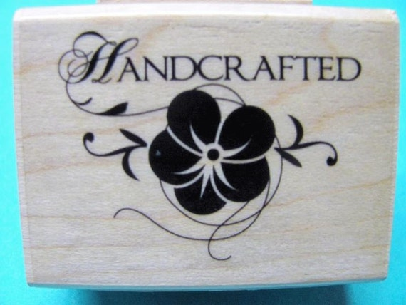 Brand New Handcrafted Rubber Stamp
