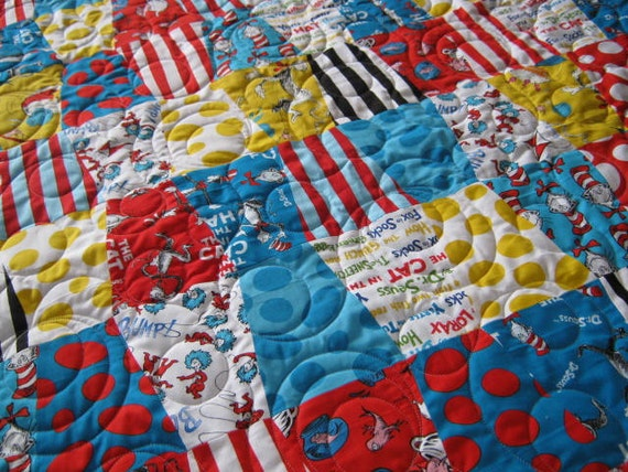 Dr Seuss Baby QuiltThe Cat in the Hat Nursery Dr Seuss Baby : dr seuss quilt kit - Adamdwight.com