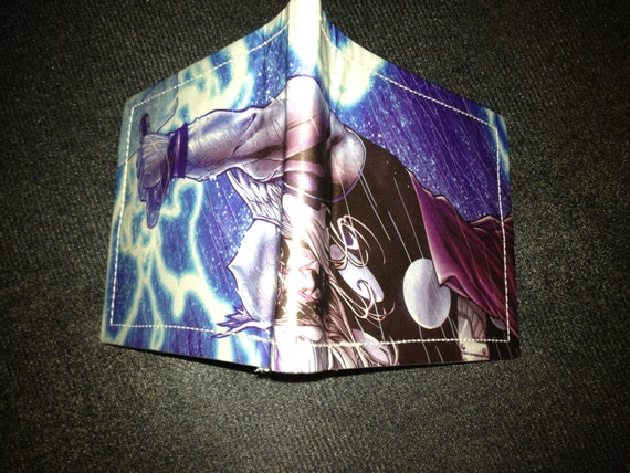 Thor  Unique handmade mens comic wallet using recycled comic book materials From TheFanFavorites.com