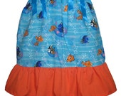 Pillowcase Dress & Pants Set Disney Finding Nemo Dory Boutique 12/18M 24M/2T 3T/4T 5/6 Pageant New