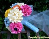 Wedding Bouquet - Customize your Style and Colors - Made To Order