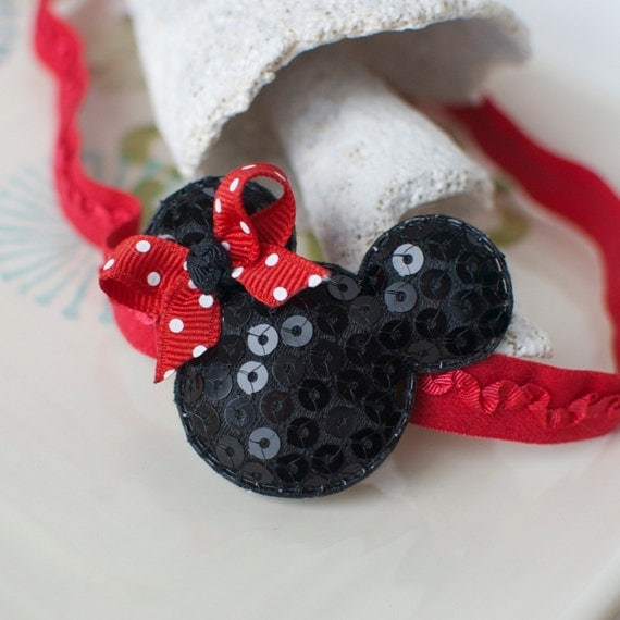 Mouse Ears Headband- Perfect for Disney Trips
