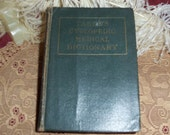 Antique 1940s Taber's Cyclopedic Medical Dictionary