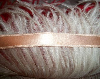 Antique Vintage 1930s 40s Silk Ribbon Almost 2 Yards