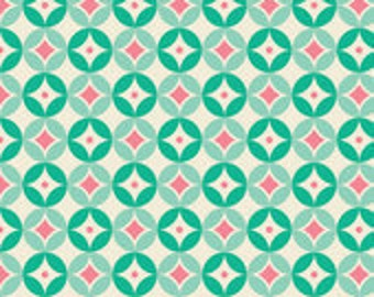 Riley Blake Designs Blue Sweet Nothings Diamonds Fabric - 1 yard
