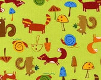 Robert Kaufman Animal Party II fabric