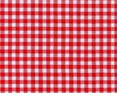 Round Gingham Oilcloth Tablecloth You pick size and color
