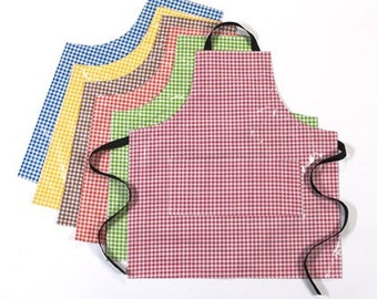 Adult Aprons in Gingham