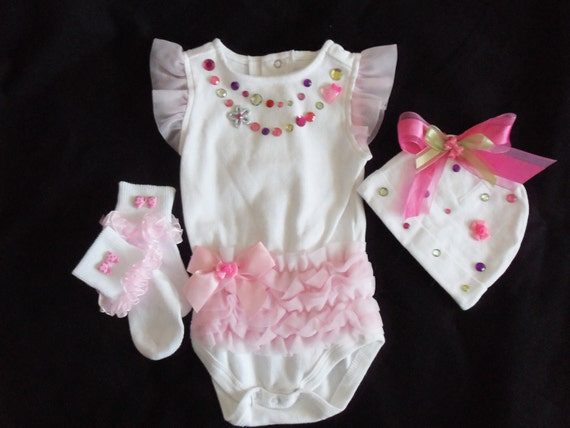 Bling baby outfit