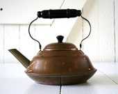 Copper Teapot with a Clean Interior