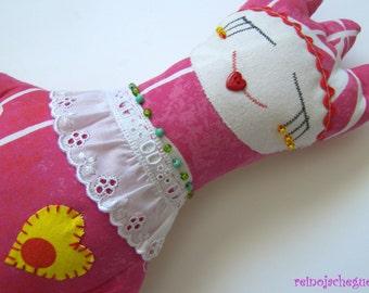 "Princess Soft Doll Pink, 15"" high"