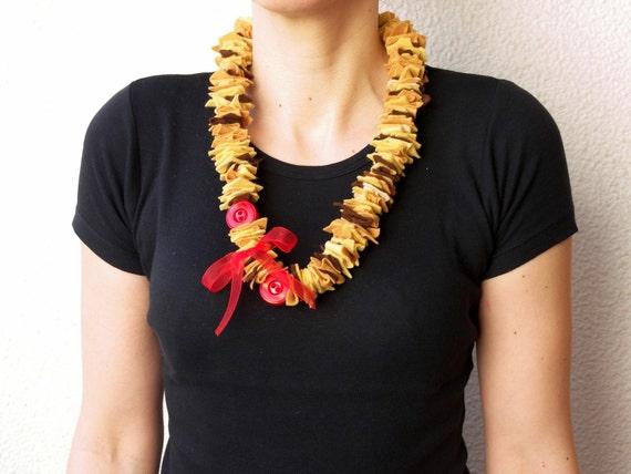 Original Felt Necklace