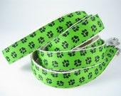 Green Paws hemp dog leash