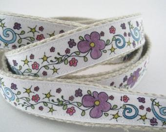Flower Power hemp dog leash