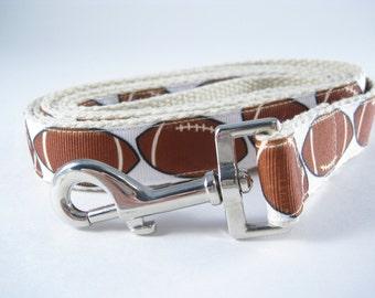 Gridiron Football hemp dog leash