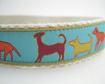 Doggy Parade hemp dog collar or leash