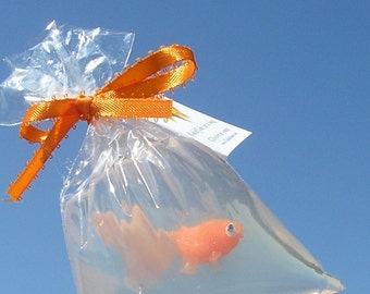All Orange Goldfish Fish in a Bag Novelty Soap Fun and Games and Prizes Try One