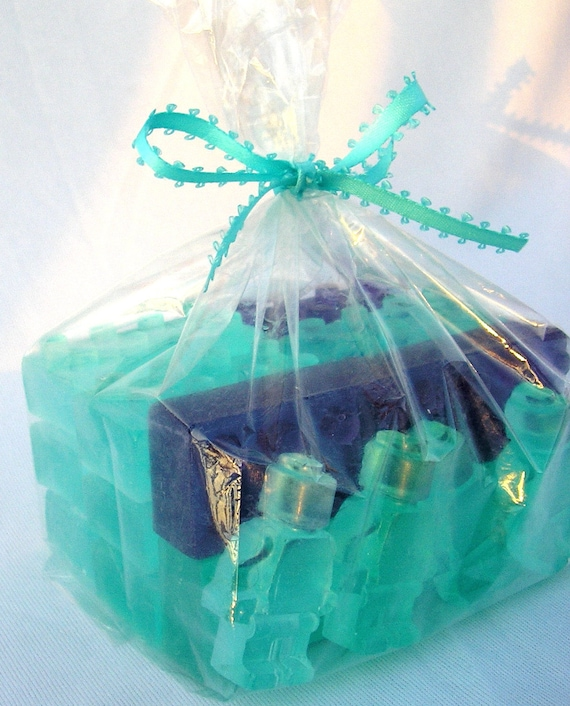 Soap Bricks building blocks one pound bag of Mini Soap Bricks & Men Soap Brick gifts under 20