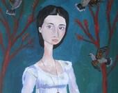 the arborist's wife, 8 x 10 art print