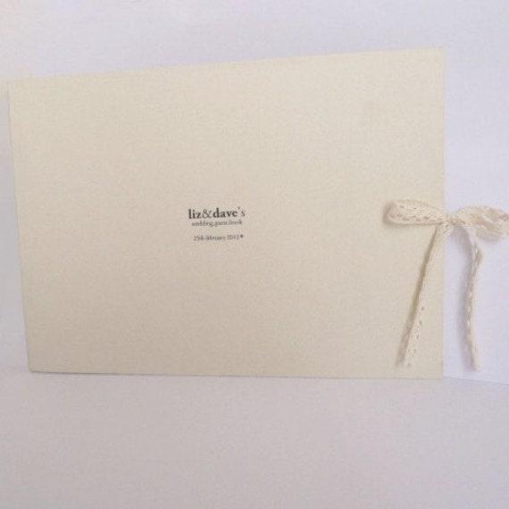 custom-made.wedding.guest.book.